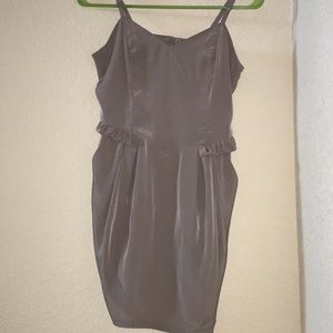 H&M Taupe Dress with Pockets